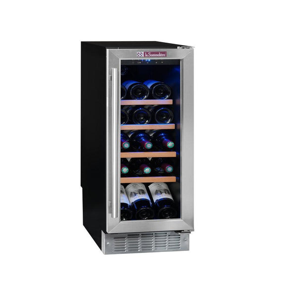 La Sommeliere - 21 bottle Built in Wine Cooler 30cm CVDE21 - Elite Wine Refrigeration