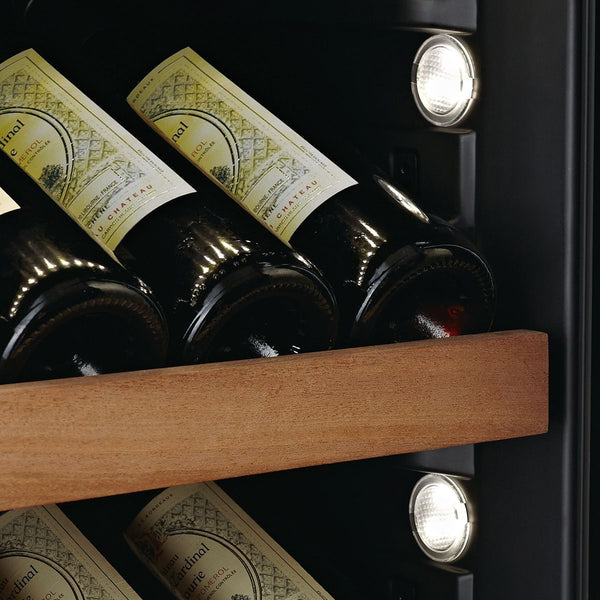 SWISSCAVE - 171 Bottle Dual Temperature Zone Wine Cooler - WLB460DFLD Elite Wine Refrigeration