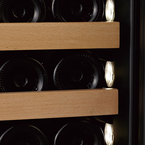 SWISSCAVE - 165 Bottle Dual Temperature Zone Wine Cooler - WLB460DF Elite Wine Refrigeration