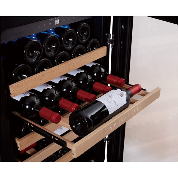 SWISSCAVE - 39 Bottle Single Temperature Zone Wine Cooler - WL120F