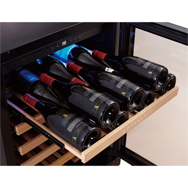 SWISSCAVE - Classic Edition 52 Bottles Single Zone Wine Cooler WL155F