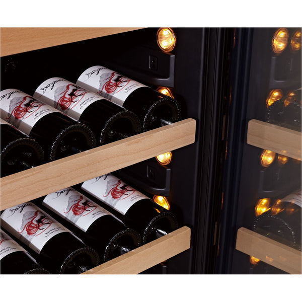 SWISSCAVE - 46 Bottle Single Temperature Zone Wine Cooler - WLB160F Elite Wine Refrigeration