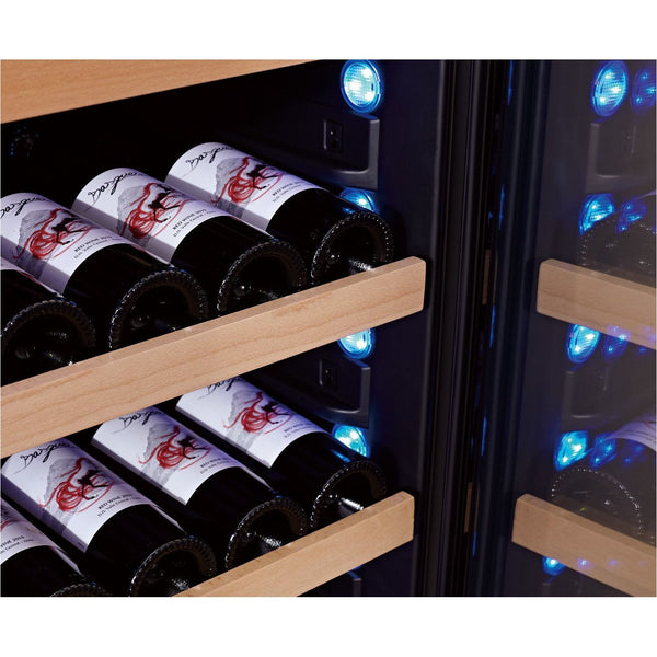SWISSCAVE - 47 Bottle Single Temperature Zone Wine Cooler - WLB160F