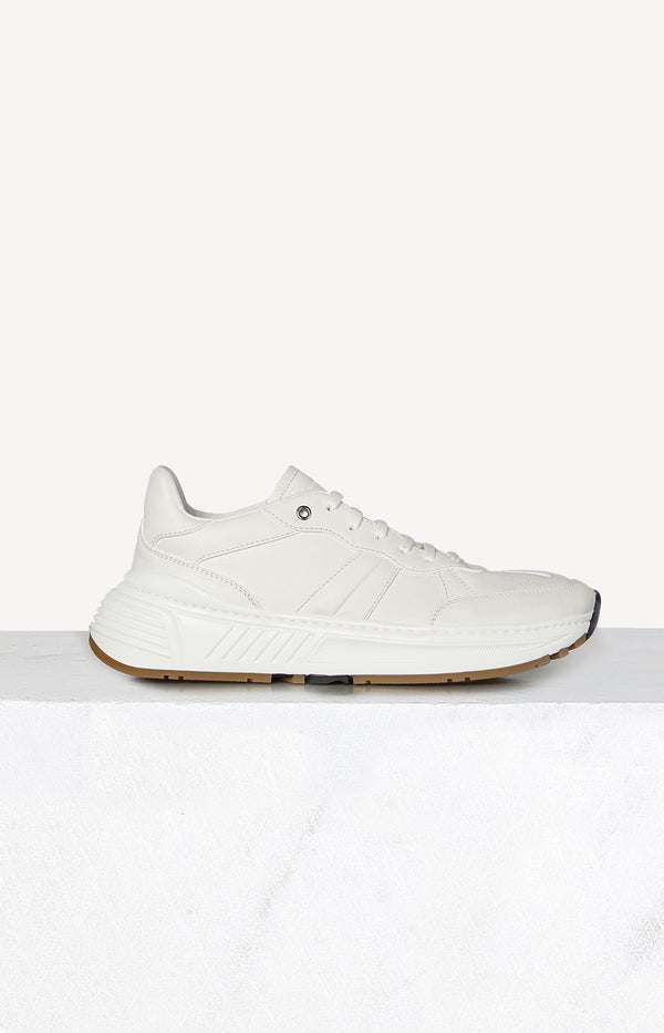 Sneaker Speedster in Optic WhiteBottega Veneta - Anita Hass