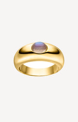 Ring Moonstone in GoldNina Kastens Jewelry - Anita Hass