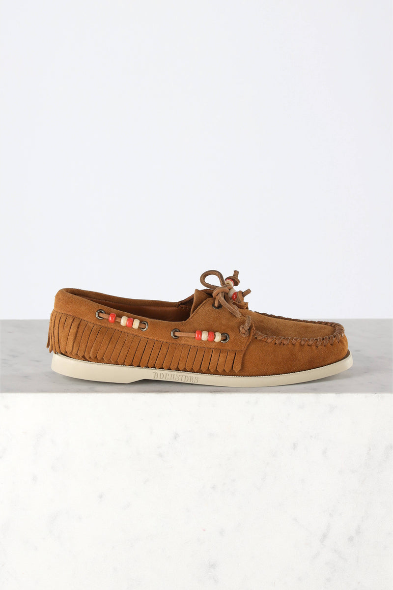 Loafer Dockside in Cubano BrownAlanui - Anita Hass