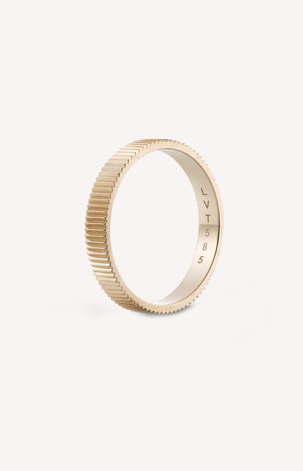 Ring Structured One Broad aus RoségoldLilian von Trapp - Anita Hass