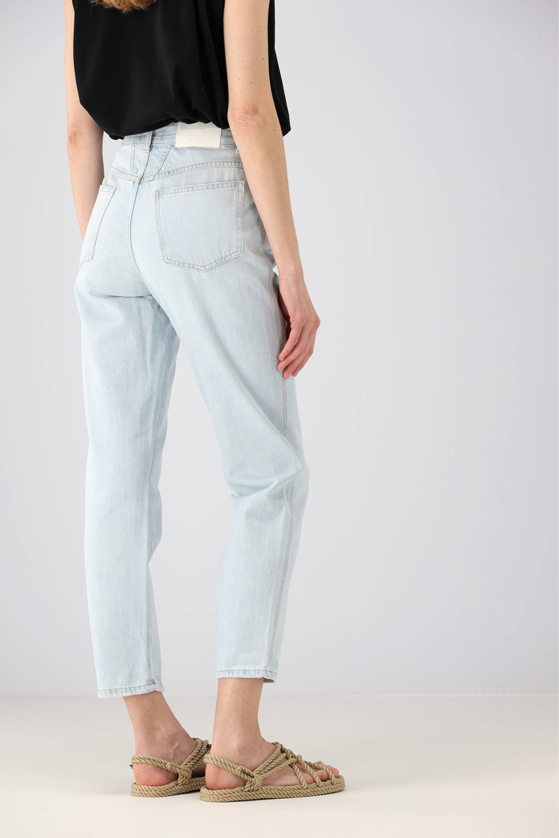 Jeans Pedal Pusher in Light BlueClosed - Anita Hass