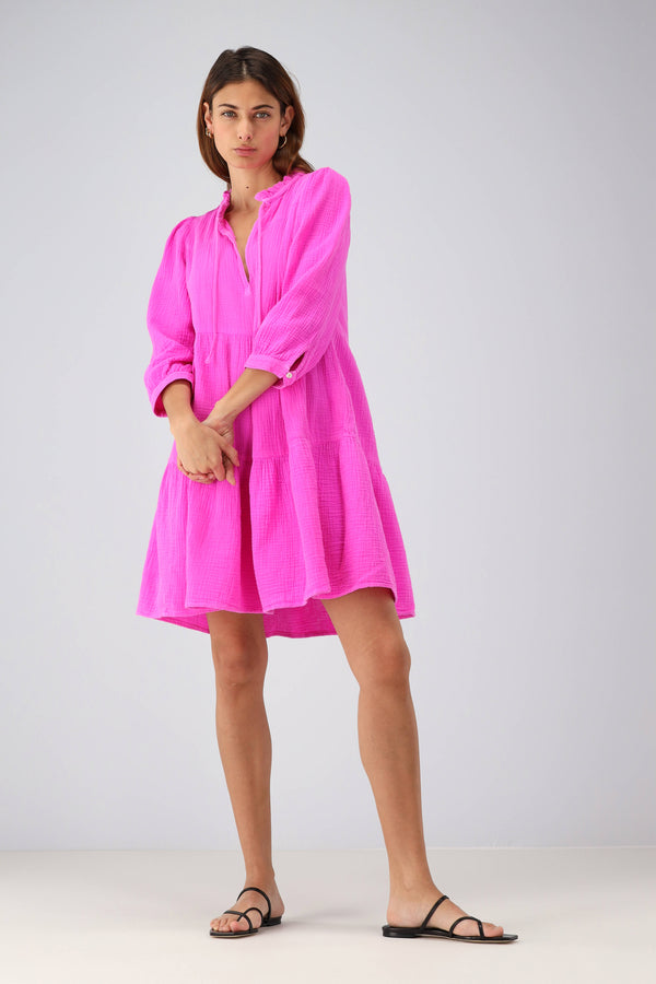 Kleid New Short Giselle in BougainvilleaHonorine - Anita Hass