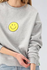 Sweatshirt The Organic Winky in Heather GreyKule - Anita Hass