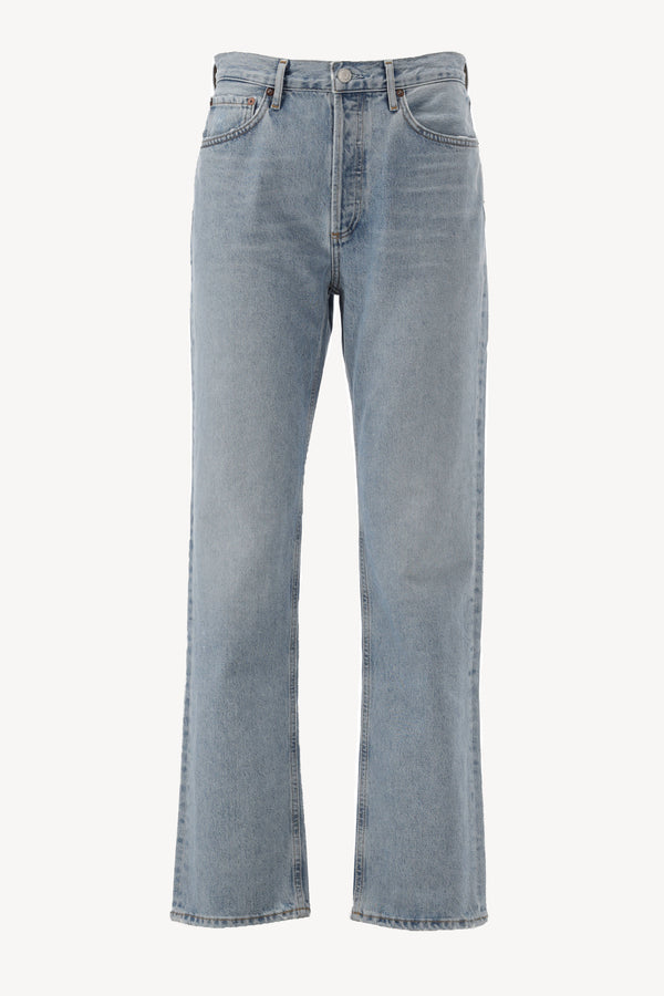 Jeans Lana Mid Rise in RiptideAgolde - Anita Hass