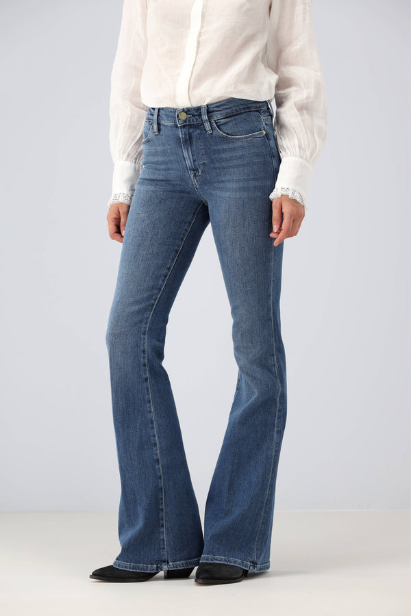 Jeans Le High Flare in Van NessFrame Denim - Anita Hass