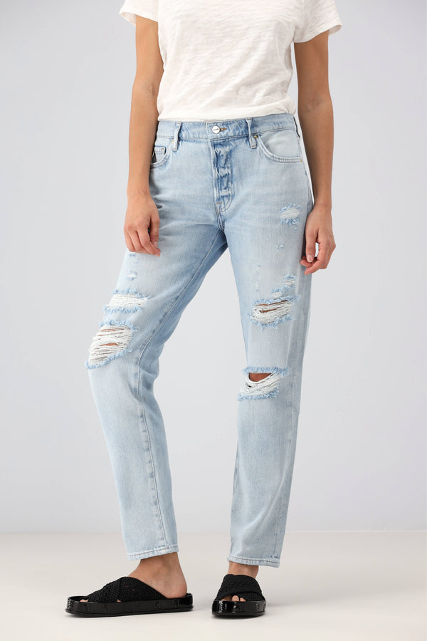 Jeans Le Slouch in NatomaFrame Denim - Anita Hass