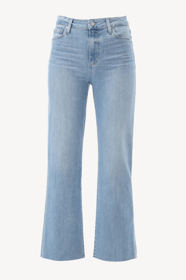Jeans Relaxed Colette Raw Hem in JamaPaige - Anita Hass
