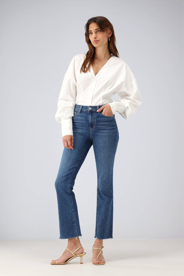 Jeans Claudine Ankle Flare in BayPaige - Anita Hass