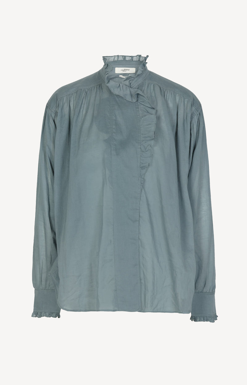 Bluse Pamias in Greyish BlueIsabel Marant - Anita Hass