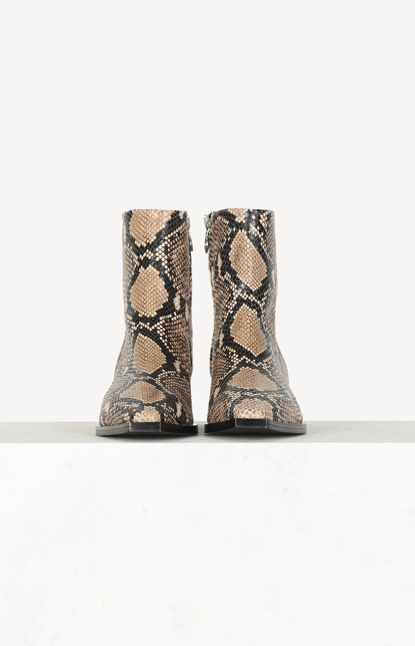 Boots Ruby in Snake Naturalaeyde - Anita Hass