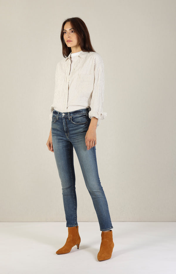 Bluse Boxy Button Down in OakVince - Anita Hass