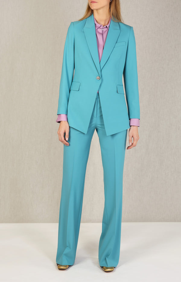 Blazer Etiennette in TealTheory - Anita Hass