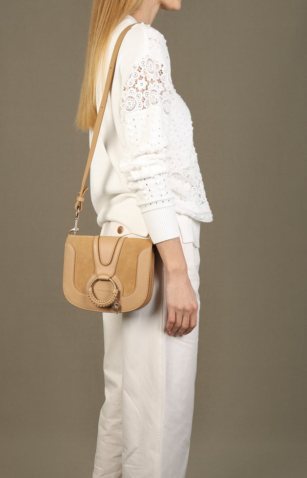 Crossbody-Tasche Hana in Coconut BrownSee by Chloé - Anita Hass
