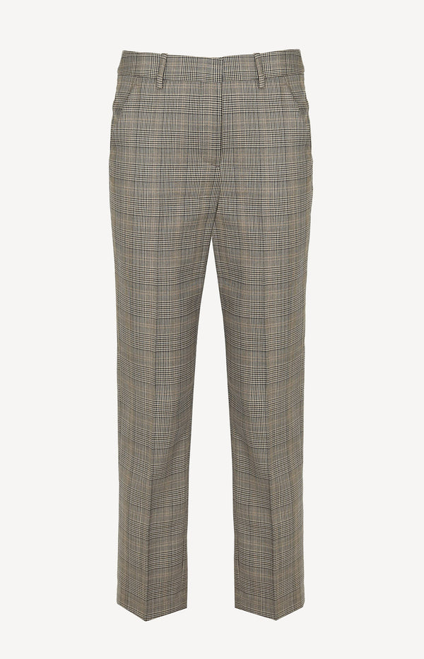 Hose Colmar in Grey/Black/Tan PlaidNili Lotan - Anita Hass