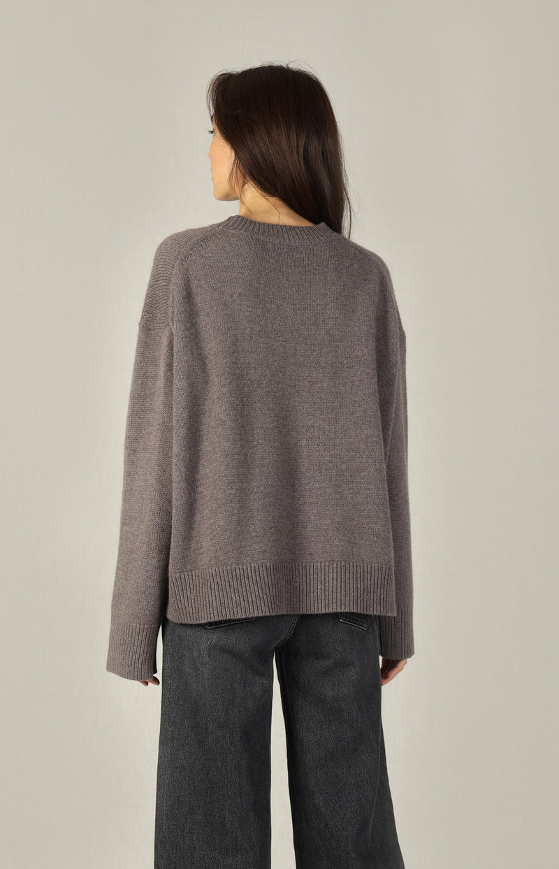 Pullover Slouchy Crew in CedarSminfinity - Anita Hass