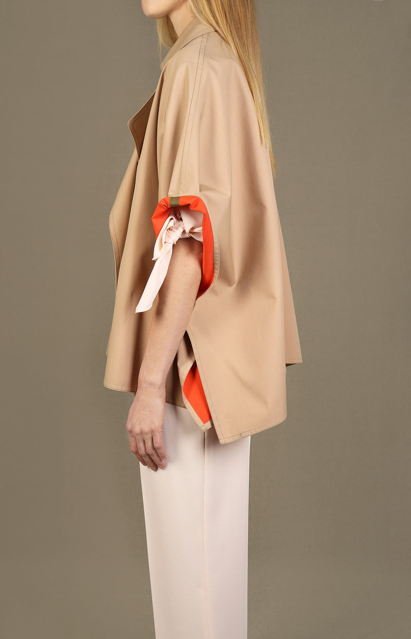 Cape Mantel in Beige/OrangeSee by Chloé - Anita Hass