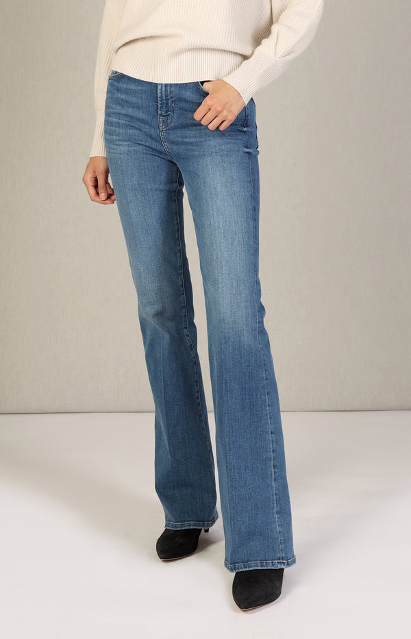 Jeans Lisha Slim Illusion Possessed in Blau7 For All Mankind - Anita Hass