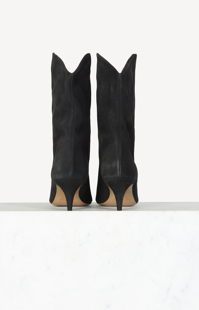 Boots Dernee in Faded BlackIsabel Marant - Anita Hass