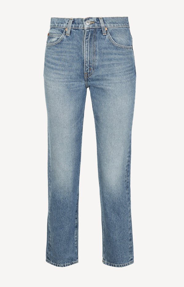 Jeans 70s Straight in Indigo StoneRE/DONE - Anita Hass