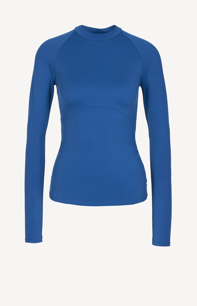Longsleeve Velour in Electric BlueNorba - Anita Hass