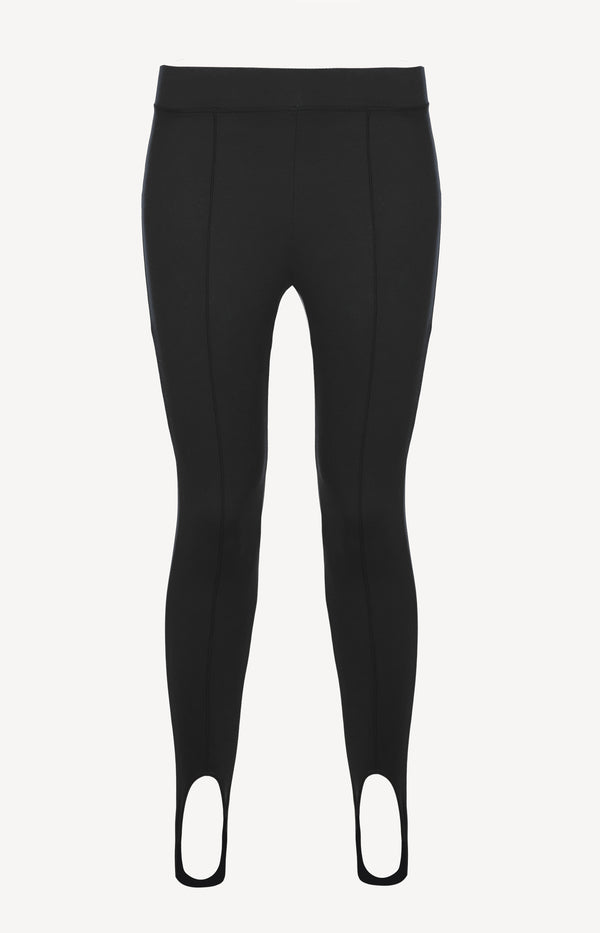 Leggings Stirrup Velours Long in SchwarzNorba - Anita Hass