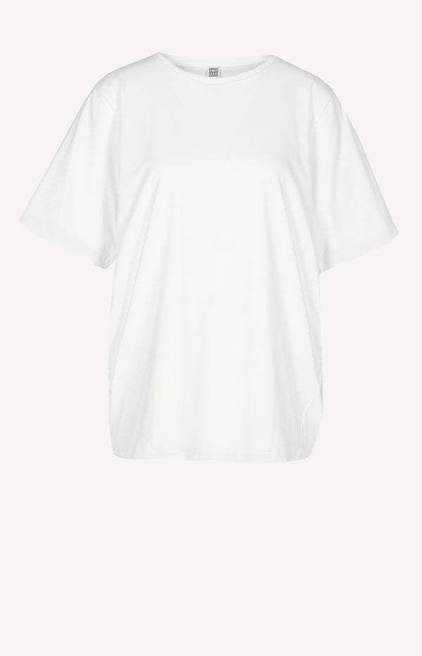 T-Shirt Oversized in Off-Whitetotême - Anita Hass