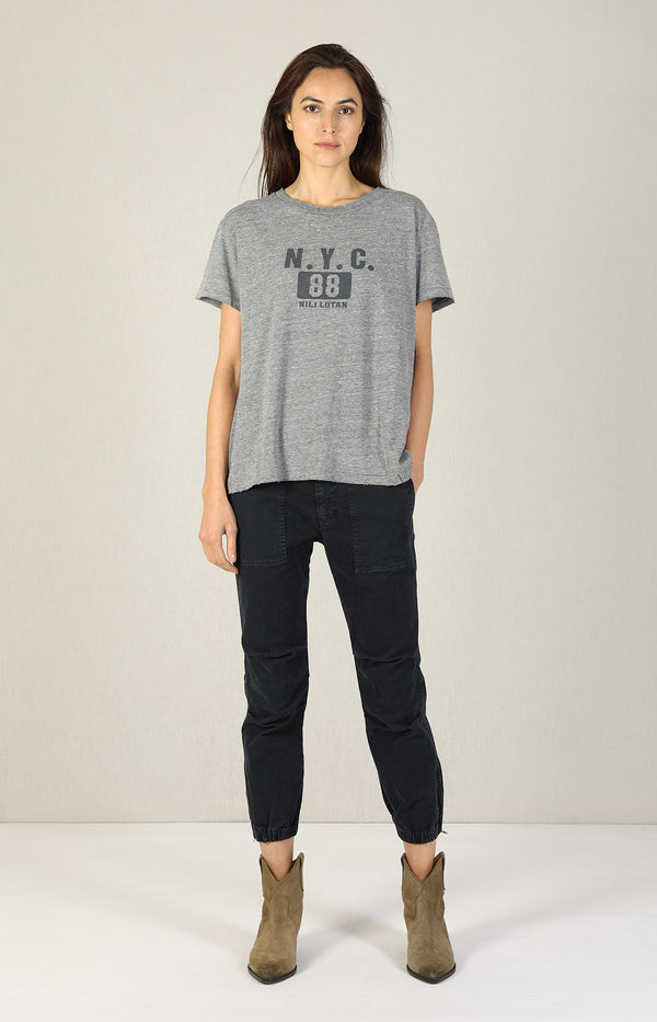 T-Shirt Brady New York 88 in Heather GreyNili Lotan - Anita Hass