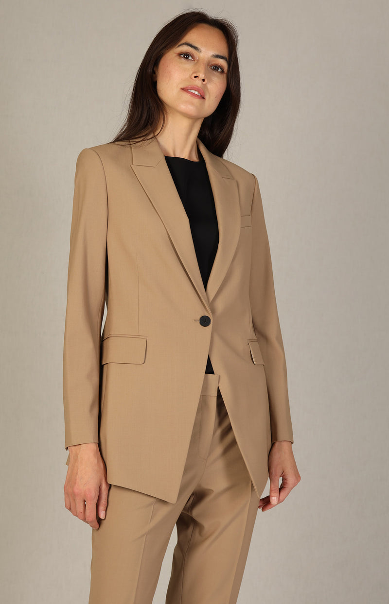 Blazer Etiennette in CamelTheory - Anita Hass