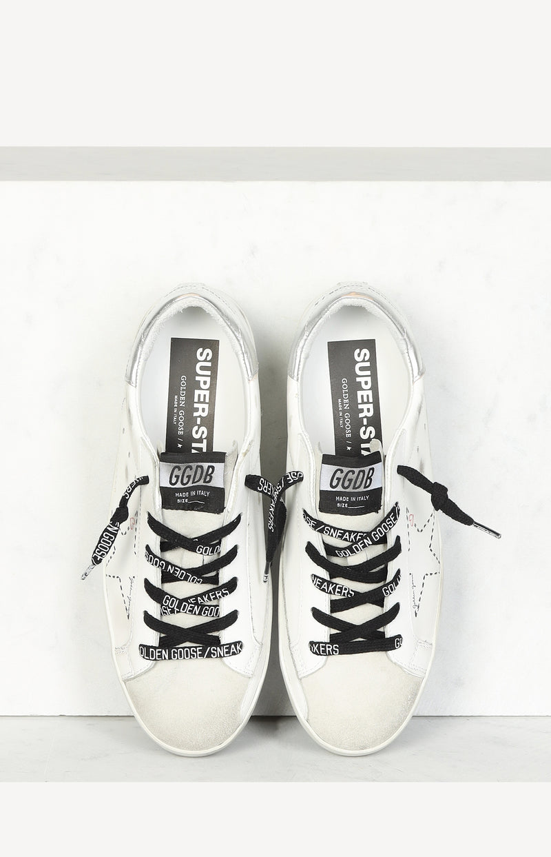 Sneaker Superstar Classic in Ice/White/SilverGolden Goose - Anita Hass