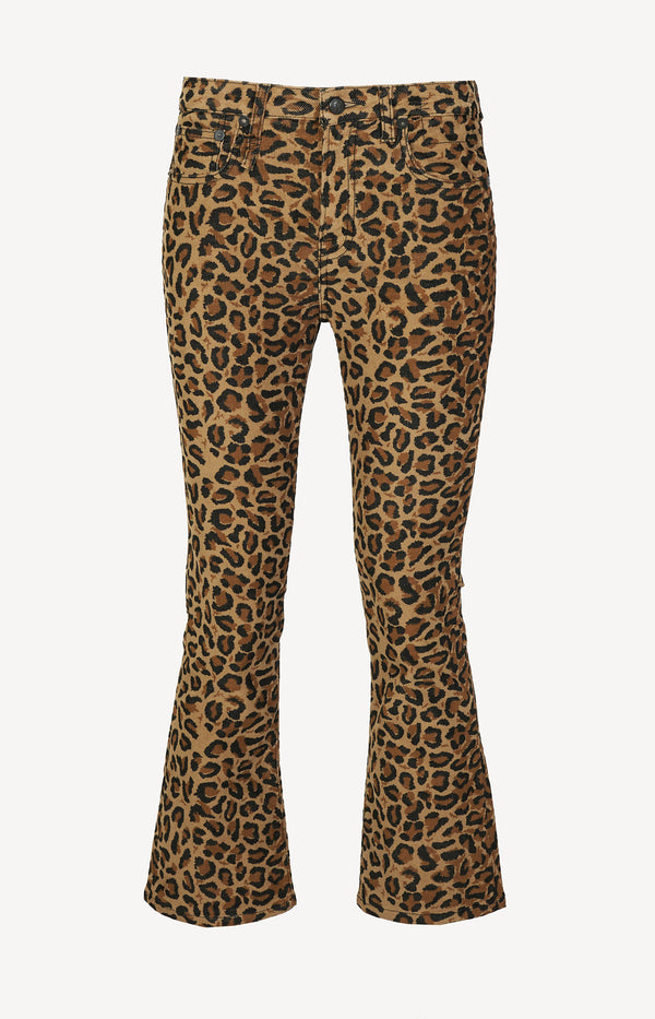 Cordhose Kick Fit in Tan LeopardR13 - Anita Hass