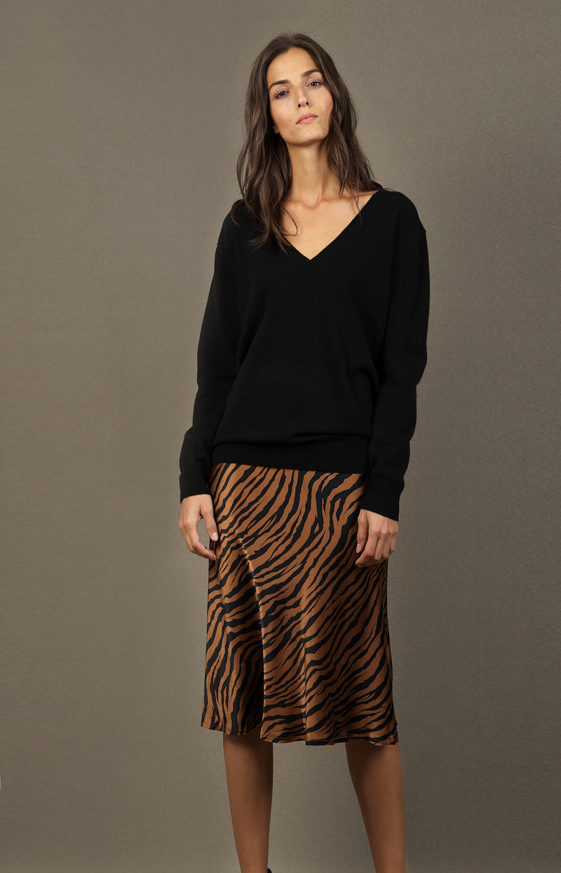 Rock Lane mit Small Bronze Tiger PrintNili Lotan - Anita Hass