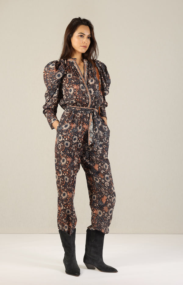 Jumpsuit Meadow in ObsidianUlla Johnson - Anita Hass