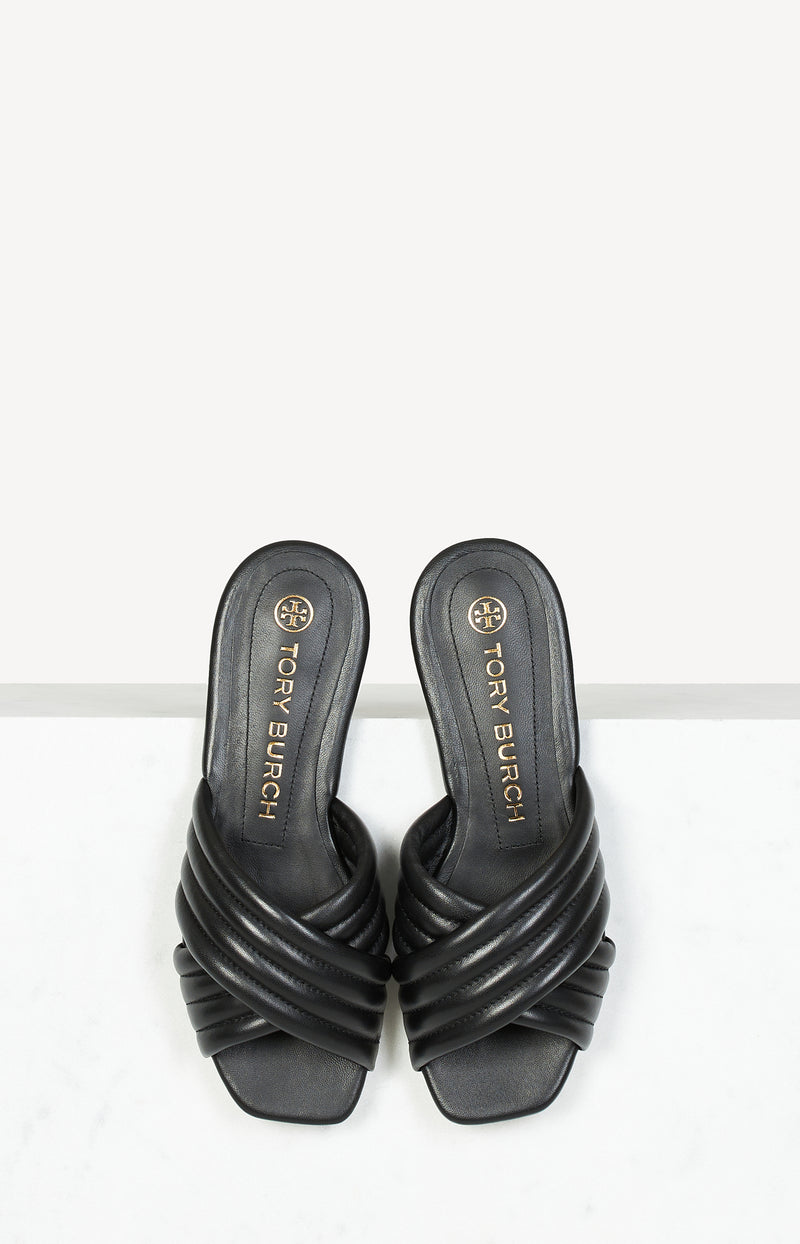 Sandale Kira Quilted in Perfect BlackTory Burch - Anita Hass