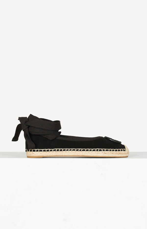 Espadrilles Minnie Ballet in Perfect BlackTory Burch - Anita Hass