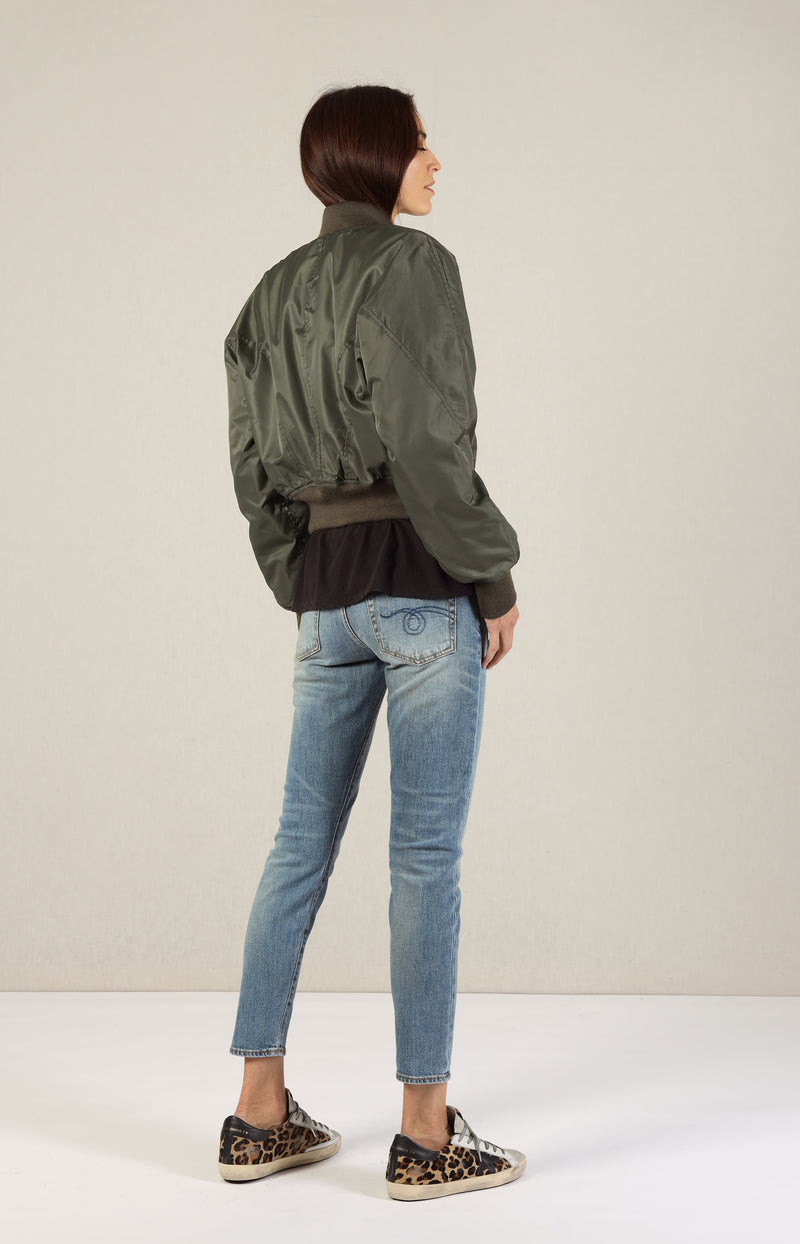 Jacke Flight Bomber in OliveR13 - Anita Hass