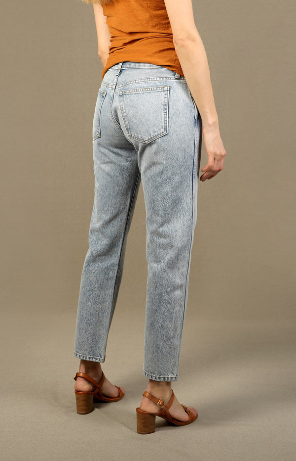 Jeans Kyle Low-Rise Straight in Santa FeKhaite - Anita Hass