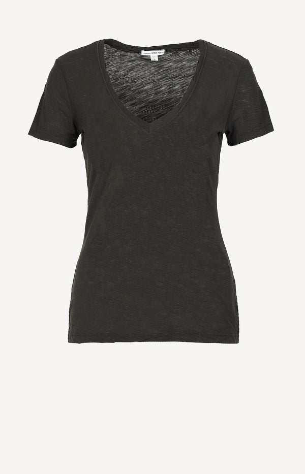 T-Shirt Casual in CarbonJames Perse - Anita Hass