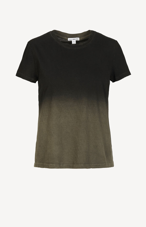 T-Shirt Vintage Boy in Army Green/SchwarzJames Perse - Anita Hass