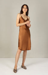 Kleid Short Cami in WhiskeyNili Lotan - Anita Hass