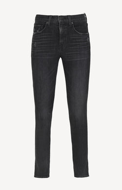 Mid Rise Jeans in Distressed BlackNili Lotan - Anita Hass