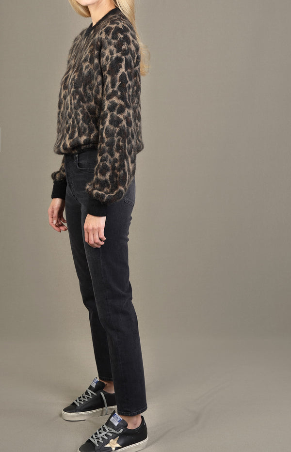 Sweater Kaneshon in LeopardGolden Goose - Anita Hass