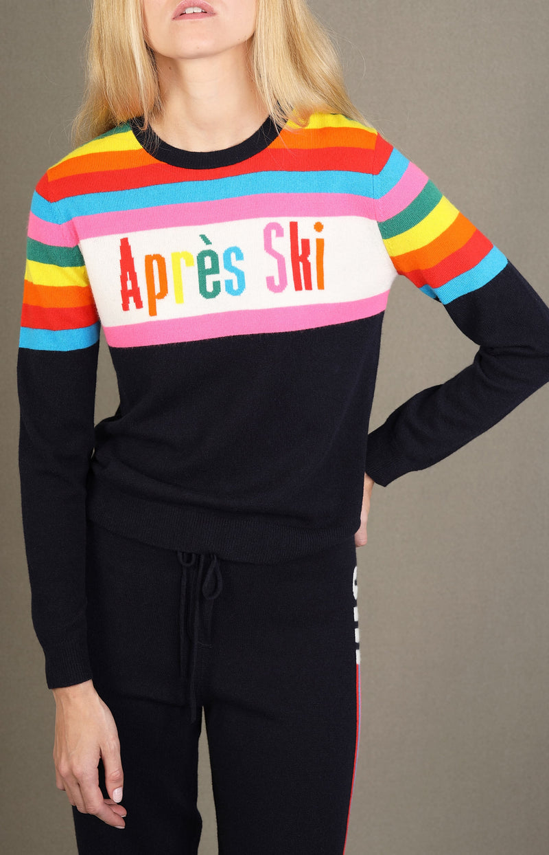 Pullover Apres Ski in Navy/MultiChinti and Parker - Anita Hass