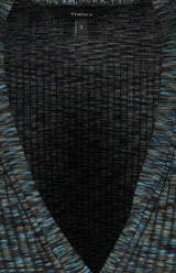 Cardigan Space Dyed in Schwarz/MultiTheory - Anita Hass